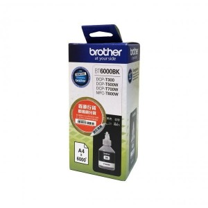 Brother Tusz BT6000BK Black 6k do DCP-T300, DCP-T500W