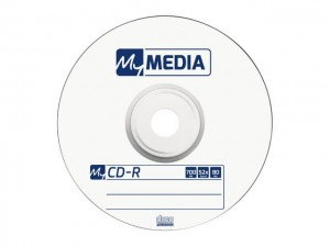 Verbatim CD-R My Media 700MB Wrap (10 spindle)